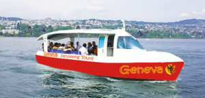 Lake Geneva adds Solar Boat Greta to electric fleet