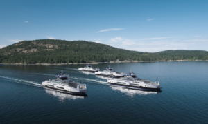BC Ferries orders four hybrid-electric vessels