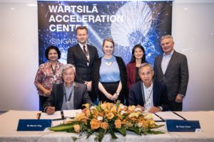 PSA Marine and Wärtsilä collaborate on clean energy shipping projects