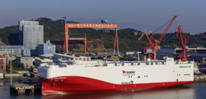 VW launches car freighters powered by LNG in China