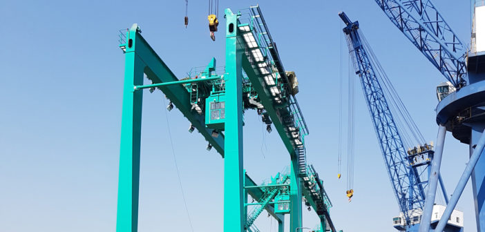 Corvus Energy to supply batteries for new fuel-efficient hybrid port cranes