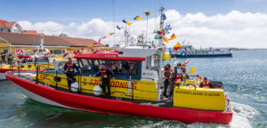 Swedish Sea Rescue boat adopts hybrid power