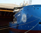 Ulstein floats out new offshore wind vessel for Bernhard Schulte