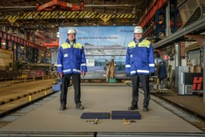 Rauma begins ferry construction