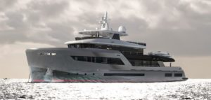 Hybrid drive for flagship superyacht