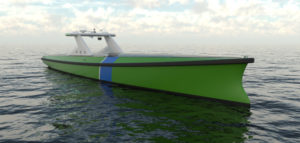 New autonomous electric offshore guard vessel