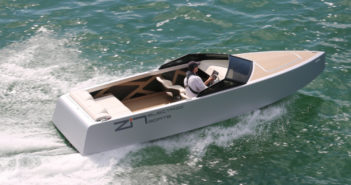 Zin Boats electric speedboat