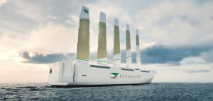 Sail-powered hybrid looks to revolutionize ocean freight