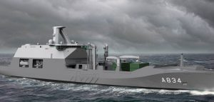 Netherlands Navy to get hybrid support ship
