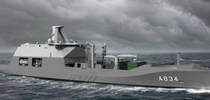 Netherlands Navy to get hybrid support ship