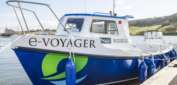 UK's first electric ferry launches