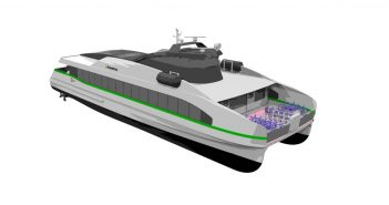 Fast electric ferry for Norwegian operator Kolumbus