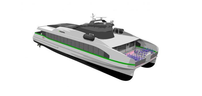 Fast electric ferry for Norwegian operator Kolumbus