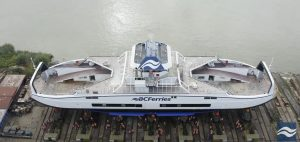 BC Ferries launches third hybrid-electric island class ferry