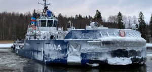 Finland launches hybrid icebreaker