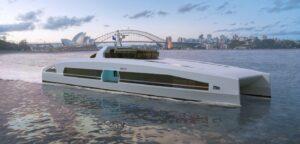 Austal Australia debuts fast electric ferry