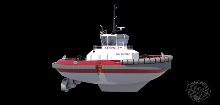 First fully electric autonomous tug for US market