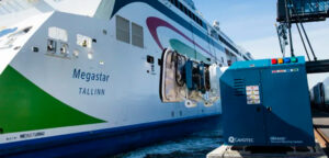 Automated mooring systems emission reduction quantified in Helsinki