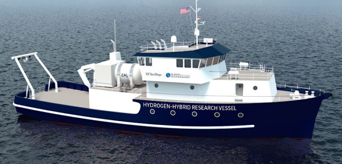 Scripps Institution given funding for hydrogen hybrid research vessel