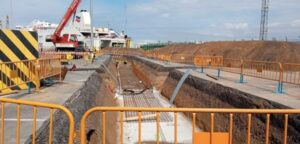 Construction of LNG bunker terminal begins in Bilbao