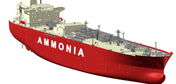 Bureau Veritas grants HHI and KSOE Approval in Principle for ammonia vessel